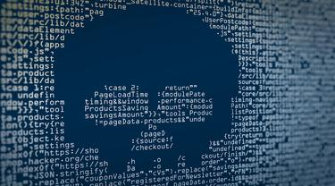 Ilustrasi Keamanan Siber, Kejahatan Siber, Malware