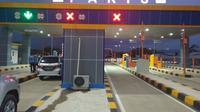 Gerbang Tol Pakis di ruas Tol Pandaan-Malang Seksi 4 (Singosari-Pakis). (Istimewa)