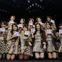 Foto Preskon Launching Album Mahagita JKT48 (Adrian Putra/bintang.com)
