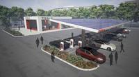 Stasiun pengisian Tesla dengan restoran mungkin terjadi (Autoevolution)