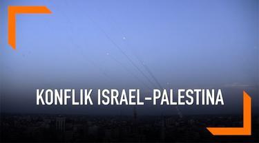 Situasi mencekam terasa di Gaza saat aksi saling serang terjadi antara kelompok militan Gaza dengan militer Israel. Israel lancarkan serangan udara usai wilayahnya dihantam rentetan serangan roket.