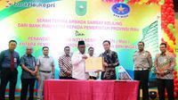 MoU BPH Migas dan Riau (Liputan6.com / M.Syukur)