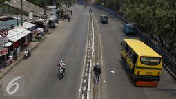 Suasana terminal Kampung Rambutan Jakarta, Kamis (5/11/2015). Tiga terminal yang menjadi prioritas untuk diperbaiki, yaitu terminal Kalideres, Kampung Rambutan dan Pulo Gadung. (Liputan6.com/Yoppy Renato)