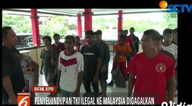 Rencananya puluhan TKI tersebut akan diberangkatkan ke Malaysia melalui jalur laut.