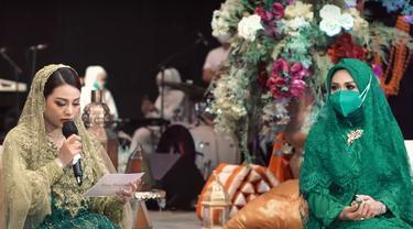 Krisdayanti dan Aurel Hermansyah. (Foto: YouTube The Hermansyah A6)