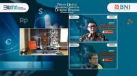 BNI Media Update virtual, Selasa (7/9/2021). Dok BNI