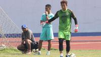 I Made Wirawan saat berlatih bersama Persib Bandung. (Bola.com/Muhammad Ginanjar)
