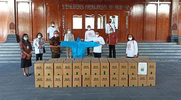 BLK Surakarta Donasi APD Dukung Gugus Tugas Hadapi Covid-19