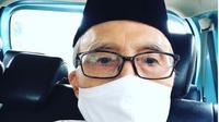 Sapardi Djoko Damono. (dok.Instagram @damonosapardi/https://www.instagram.com/p/CAE4kiGjmka/Henry)