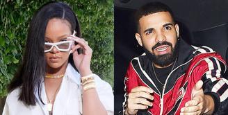 Drake mengumumkan bahwa dirinya sudah miliki anak dan merahasiakan tersebut dalam album terbarunya. Ternyata hal itu tak membuat Rihanna terkejut. (REX/Shutterstock/HollywoodLife)
