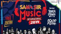 Samosir Music International rencananya akan diadakan pada tanggal 23-24 Agustus 2019.