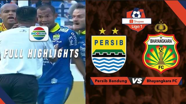 Berita video highlights Shopee Liga 1 2019 antara Persib Bandung melawan Bhayangkara FC yang berakhir dengan skor 1-2, Minggu (30/6/2019).
