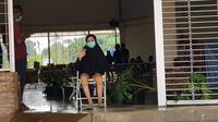 Aisyah masih dalam perawatan Rumah Lawan Covid-19. (Liputan6.com/Pramita Tristiawati)