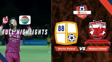 Berita video highlights Shopee Liga 1 2019 antara Barito Putera menghadapi Madura United yang berakhir dengan skor 0-1, Jumat (24/5/2019).