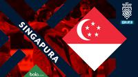 Piala AFF 2018 Timnas Singapura (Bola.com/Adreanus Titus)