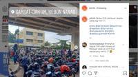Pemohon SIM di Samsat Jaktim Kebon Nanas Membeludak (Foto: @jktinfo)