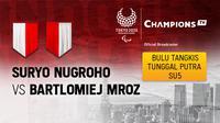 Suryo Nugroho vs Bartlomiej Mroz (Polandia)