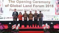 Wali Kota Bandung Oded M Danial menghadiri Global Land Forum 2018. (Dok. Humas Setda Kota Bandung/Huyogo Simbolon)