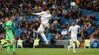 Luka Jovic mencetak gol pertamanya untuk Real Madrid pada laga melawan Leganes. (dok. Real Madrid)