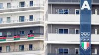 Masing-masing gedung memiliki jumlah lantai yang bervariasi, antara 14 hingga 18 lantai. (Foto: AFP/Behrouz Mehri)