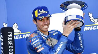 Alex Rins Juara, Alex Marquez Tampil Mengesankan di MotoGP Aragon