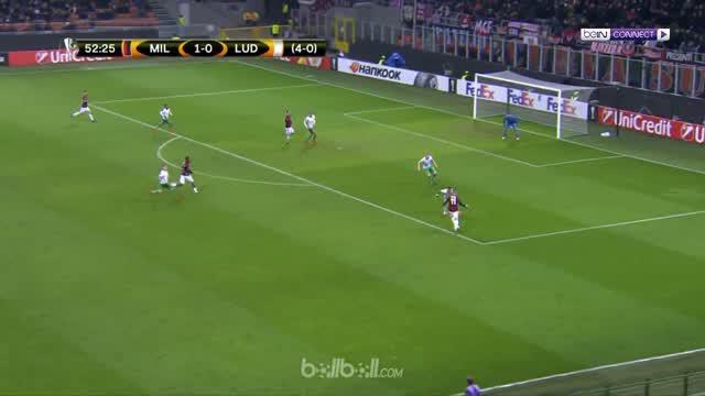 AC Milan menang tipis atas Ludogorets pada leg kedua 32 besar Liga Europa. This video is presented by Ballball.