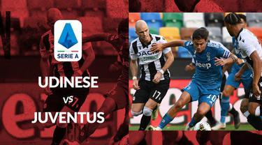 Berita motion grafis statistik Udinese vs Juventus pada lanjutan Serie A 2019-2020 pekan ke-35.