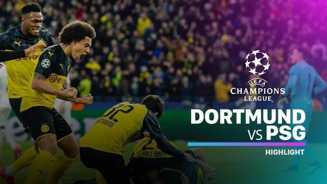 Berita video highlights leg I 16 Besar Liga Champions 2019-2020, Borussia Dortmund vs PSG, yang berakhir dengan skor 2-1, Selasa (18/2/2020).