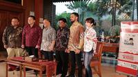 Konferensi Pers Bekraf Habibie Festival 2018 di Jakarta, Jumat (7/9/2018). Liputan6.com/Andina Librianty