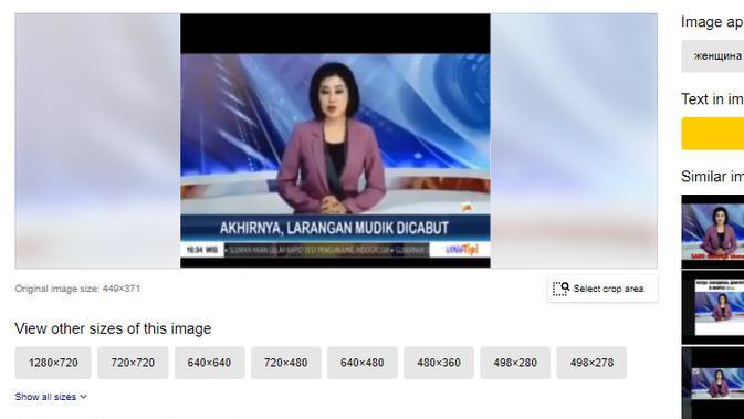 Cek Fakta Liputan6.com menelusuri klaim siaran beritar larangan mudik dicabut