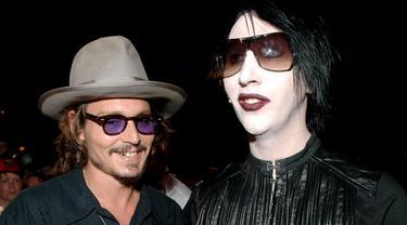 Johnny Depp dan Marilyn Manson