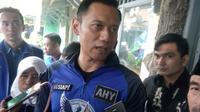 Komandan Satuan Tugas Bersama (Kogasma) untuk Pemilukada 2018 dan Pilpres 2019, Agus Harimurti Yudhoyono. (Liputan6.com/Yandhi Deslatama)