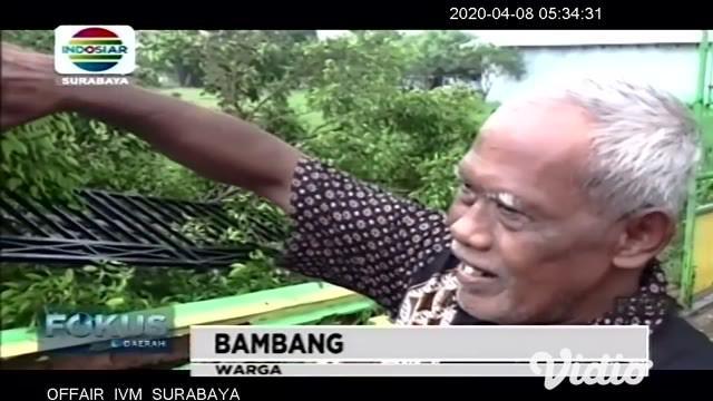 Hujan deras disertai angin kencang yang melanda wilayah kota Santri, menumbangkan pohon beringin berukuran besar di halaman SDN Jombang IV, Dusun Sambong Duran, Desa Jombang, Kecamatan/Kabupaten Jombang.