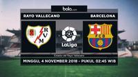 La Liga Rayo Vallecano Vs Barcelona (Bola.com/Adreanus Titus)