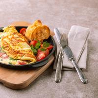 Ilustrasi omelet./Copyright shutterstock.com