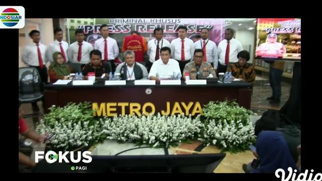 Petugas meringkus tersangka di kawasan Bekasi Kota, Jawa Barat, berawal dari laporan warga lantaran anaknya jadi korban.
