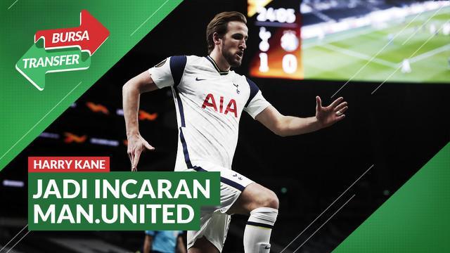 Berita Video Bursa Transfer, Manchester United Siapkan Dana Besar Untuk Datangkan Harry Kane dari Tottenham Hotspur