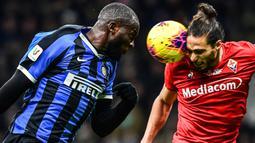 Saat berseragam Setan Merah, Lukaku hanya mampu mencetak 12 gol dari 32 penampilan di Liga Inggris. (AFP/Miguel Medina)