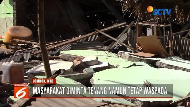 BMKG imbau agar warga tetap waspada lantaran gempa di Lombok akan terjadi hingga empat minggu ke depan.