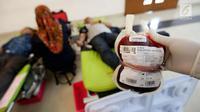 Ilustrasi donor darah. (Liputan6.com/Johan Tallo)