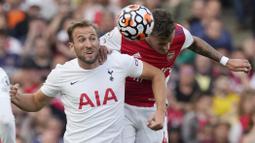 Bermain di Stadion Emirates, The Gunners mengancurkan The Liliywhites dengan skor meyakinkan 3-1. (AP/Frank Augstein)