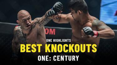 Berita Video Melihat Aksi Knockouts Terbaik dari One Championship Century, Jepang