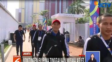 Gelombang kepulangan atlet dan official berbagai negara terjadi sejak kemarin.