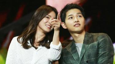 Song Joong Ki dan Song Hye Kyo (Liputan6.com/IG/indokdrama)