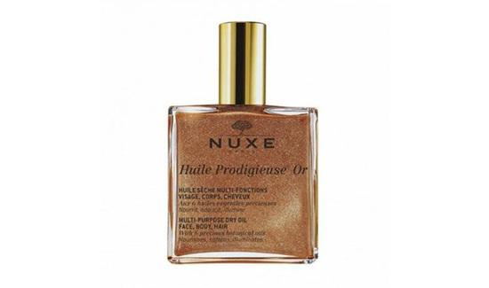 Nuxe Multi-Usage Dry Oil Golden Shimmer/copyright sociolla