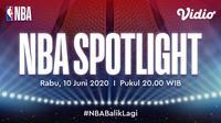 NBA Spotlight adalah program serial dokumenter yang mengulas tentang pemain dan klub basket Amerika Serikat.