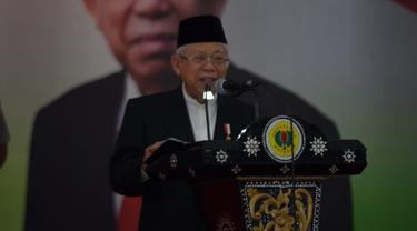 Wapres Ma'ruf Amin mengunjungi Universitas Mataram, Lombok, NTB. (Foto: Setwapres)