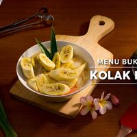 Menu Buka Puasa, Kolak Pisang. (Daniel Kampua/Bintang.com)