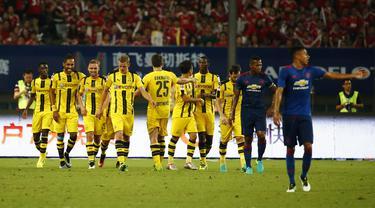 MU Vs Borussia Dortmund