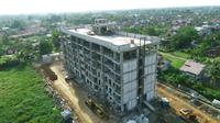 Pembangunan Rumah Susun (Rusun) untuk Aparartur Sipil Negara (ASN) atau PNS di Kalimantan Barat (Kalbar). (dok: PUPR)